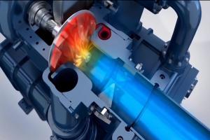 Cách hoạt động của máy nén khí ly tâm